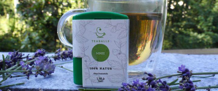 TeaBalls –Tee zum Auflösen